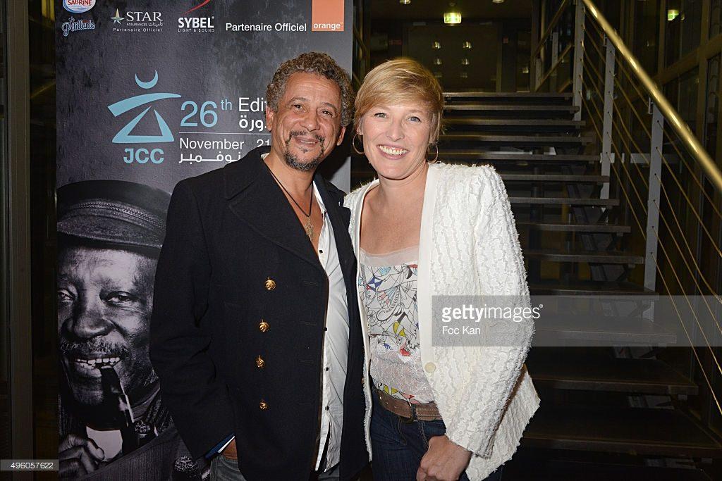 Actor Abel Jafri and journalist Estelle Martin