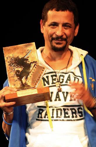 Prix d'interprétation masculine pour Abel Jafri