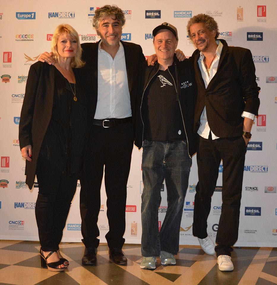 (FIFH 2017) Martine Deloupy, Alexandre Amiel, Jan Kounen et Abel Jafri à Palm Beach