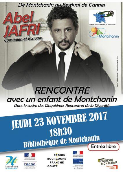 Rencontre avec Abel Jafri à Montchanin - https://abeljafri.com